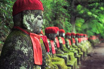 Japan Nikko Narab jizo von Jelmer Laernoes