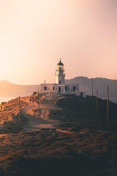 Gouden uur op de Griekse eilanden van Tes Kuilboer