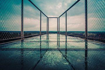 Architectuur in blauw van Martzen Fotografie