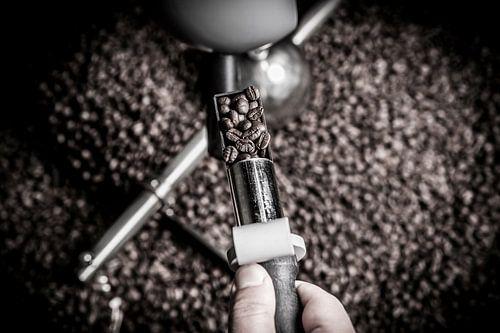 Koffiebranderij (ambacht in close-up)