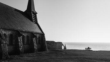 Reisefotografie - Kunstfotografie - Schwarzweiß-Normandie von Olivier Bessems Photography