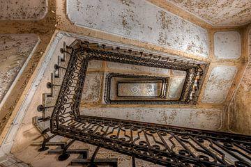 Die goldene Treppe von Perry Wiertz