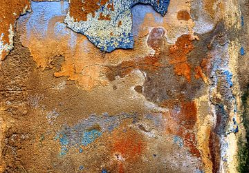 Abstracte muur: Genie van