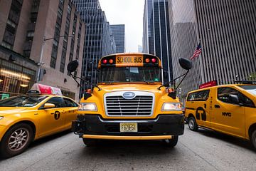 New Yorker Schulbus sur Kurt Krause