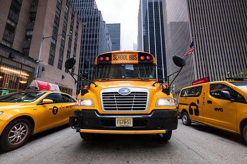 New Yorker Schulbus van Kurt Krause