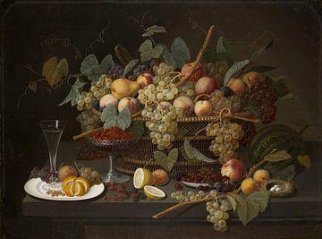 Severin Roesen-Stilleben mit Früchten (2)