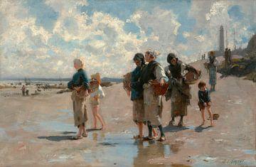 Austernfischerei in Cancale, John Singer Sargent