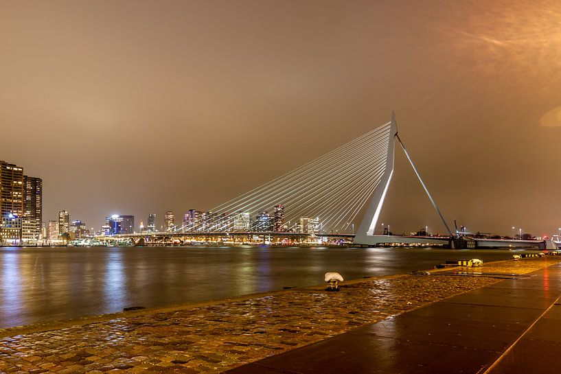 Erasmusbrug Rotterdam van RvR Photography (Reginald van Ravesteijn)