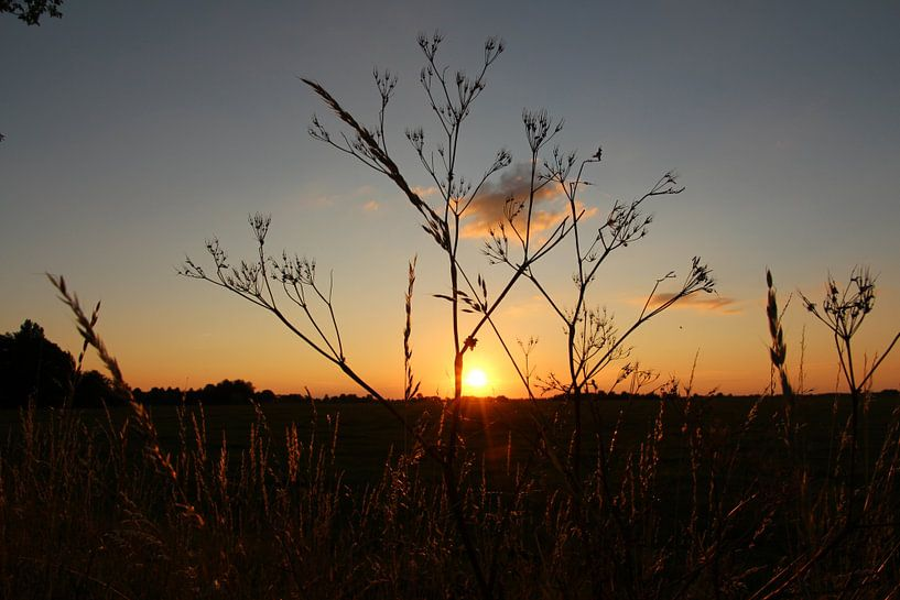 Zonsondergang  van Fotografie Sybrandy