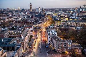 Prachtig uitzicht over Utrecht van