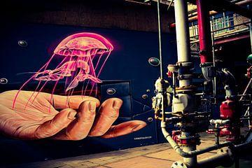 Graffiti en industrie van Sabina Meerman