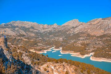 Het reservoir van Guadelest von Sanne Lillian van Gastel