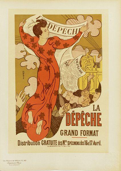 Plakat, Zeitung, Maurice Denis von Atelier Liesjes