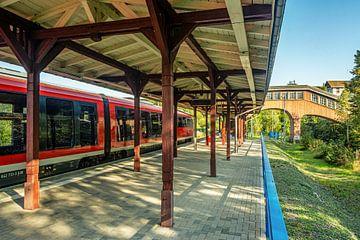 Erzgebirgsbahn Thermalbad Wiesenbad von Johnny Flash