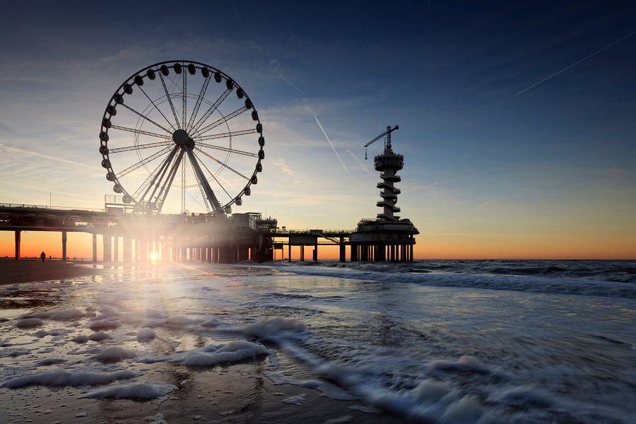 reuzenrad op de Pier van Scheveningen