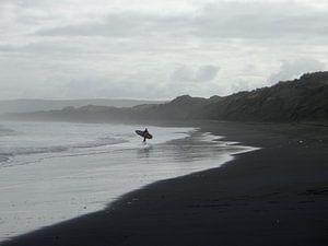 Nieuw Zeeland - Surfer van
