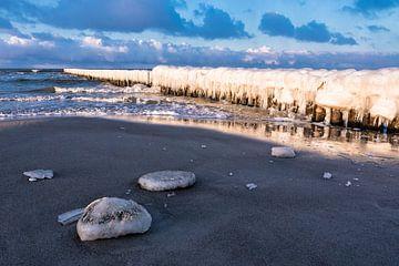 Ostseeküste im Winter von Rico Ködder