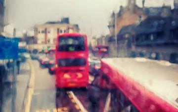London in rain, sur Ariadna de Raadt