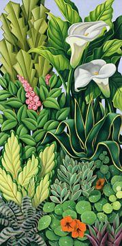 Foliage I van Catherine Abel