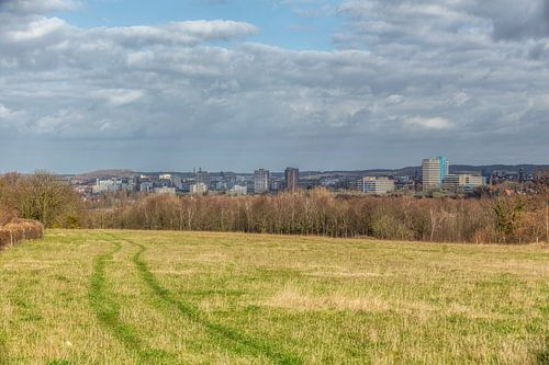 La ligne d'horizon de Heerlen sur John Kreukniet