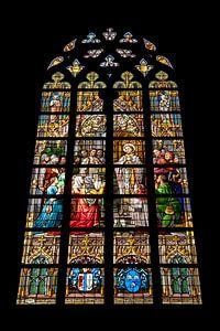 Glas in lood raam Sint Jan kathedraal