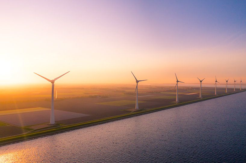 Windmolens urk van Thomas Bartelds