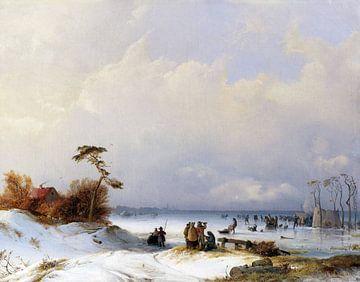 Eisvergnügen, CARL HILGERS, 1843