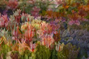 voorjaar Impressionisme van Marika Rentier