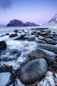 La plage d'Unstad