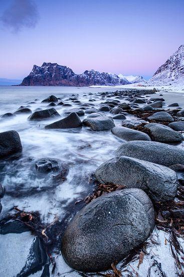 Unstad beach van Tilo Grellmann