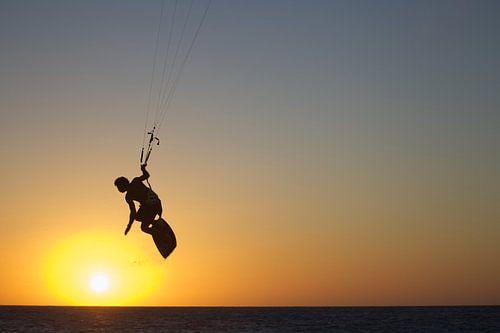 Kite naar de zon van