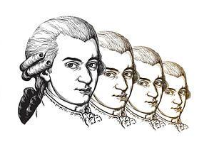 Wolfgang Amadeus Mozart, componist en muzikant