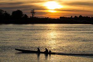 Sunset near 4000 Islands