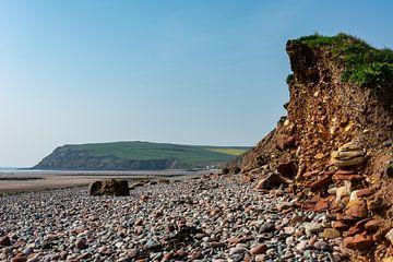 Strand in Engeland van Silvia Rikmanspoel
