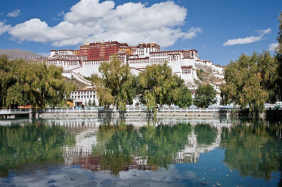 Potala paleis in Lhasa Tibet