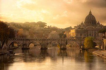 Vue sur Rome - Italie sur Bas Meelker