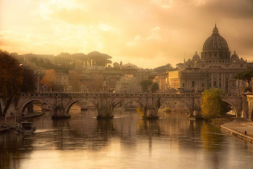 Blik op Rome- Italië van Bas Meelker