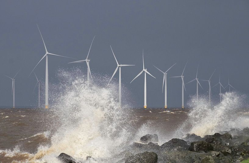 Windpark Westermeerwind van Ruud van der Lubben