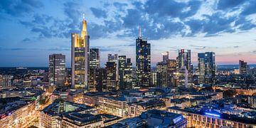 Frankfurt Skyline von davis davis