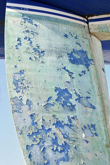 Schip op de wal in Zeeland, Breskens van Anne Hana