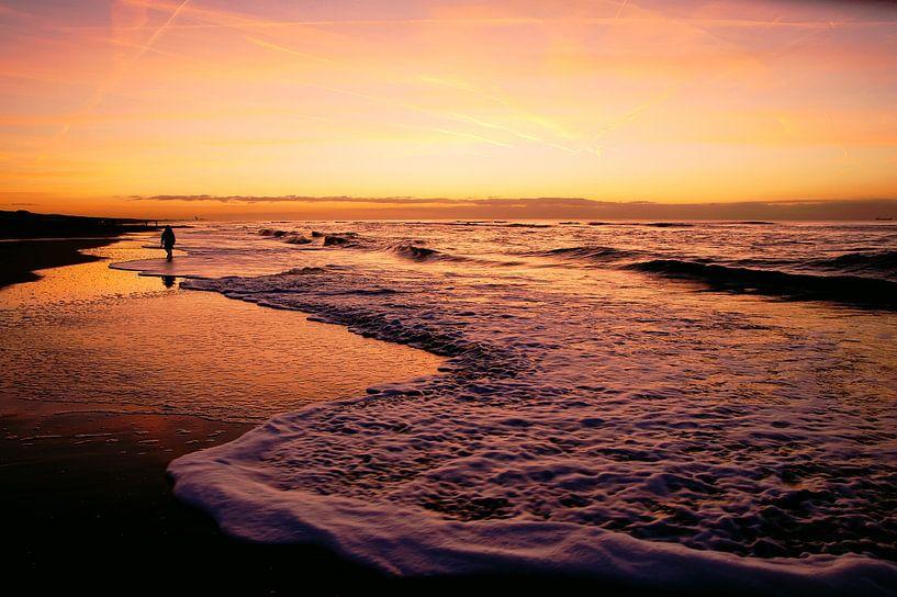 sea and waves van Dirk van Egmond