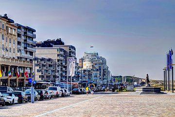 Boulevard Noordwijk aan Zee Nederland van Hendrik-Jan Kornelis