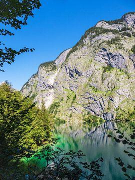 Blick auf den Obersee im Berchtesgadener Land von Rico Ködder
