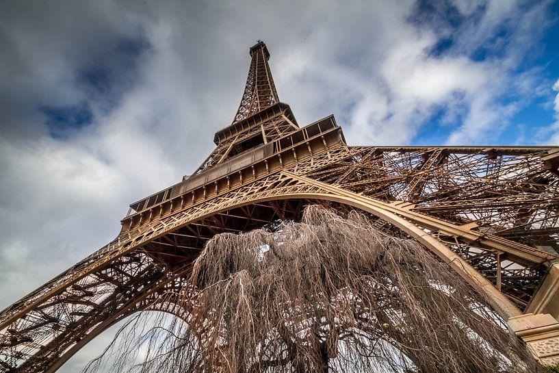 Eiffel Tower van Rene Ladenius Digital Art