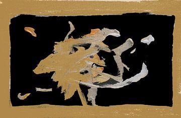 Gold Rush 1 van Toekie -Art