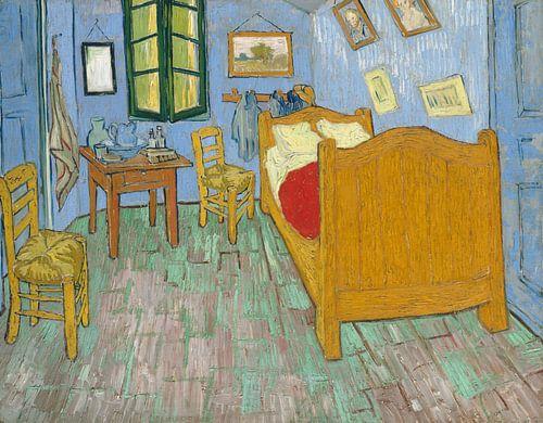 Vincent van Gogh. De slaapkamer, 1888