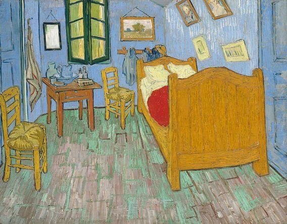 Vincent van Gogh. De slaapkamer, 1888 van 1000 Schilderijen