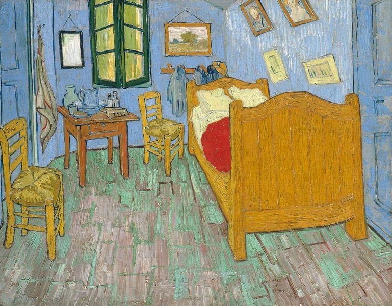 Vincent van Gogh. De slaapkamer, 1888 van 1000 Schilderijen op ...