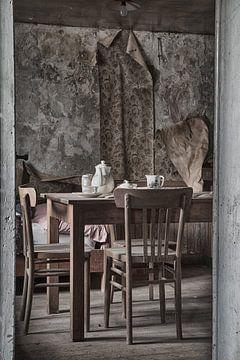 Woonkamer urbex von Ingrid Van Damme fotografie