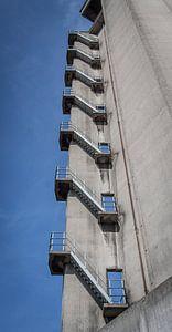 Trappenhuis Meelfabriek van